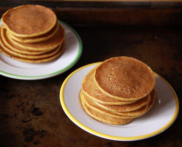 Toddler Tuesday Pumpkin Pancakes