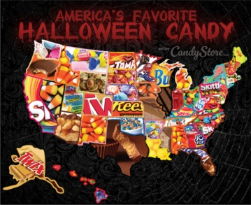 Most Popular Halloween Candy In Each State