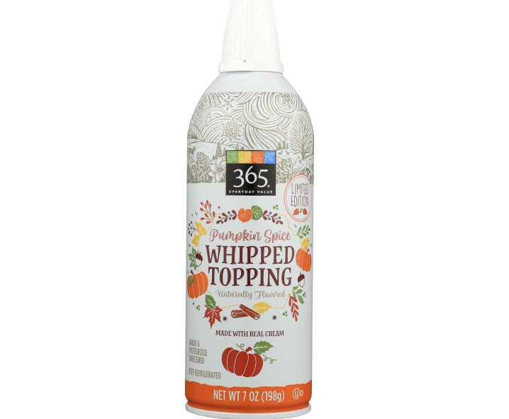 Pumpkin Spice Whipped Cream Spray Is Coming