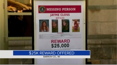 Barron Authorities Offer Reward For Info On Missing Teen