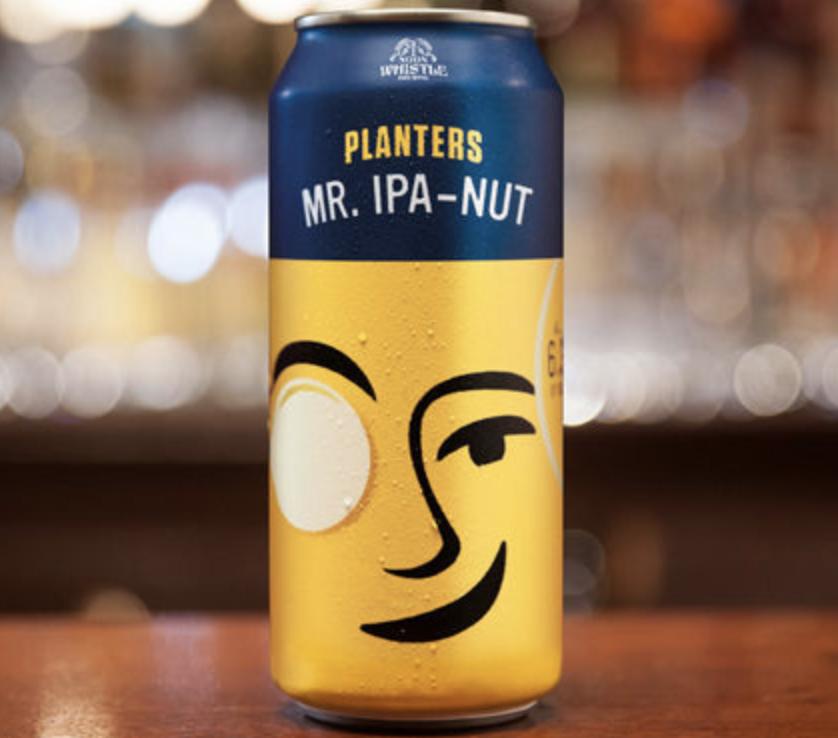 Water + Hops + Planters Peanuts = Beer!