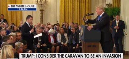 President Trump Gets Into It With CNN Reporter.. Then Kicks Him Out!