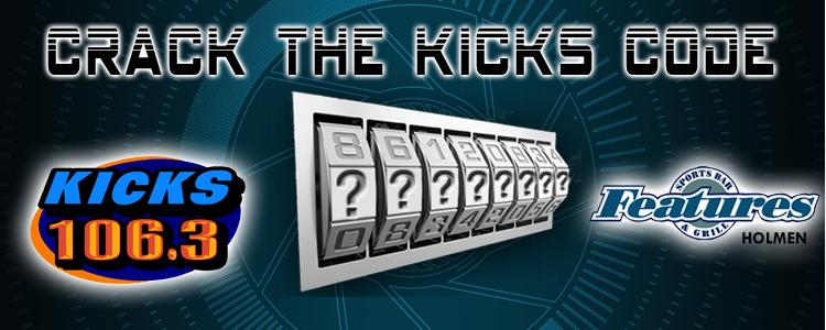 Crack The KICKS Code! | KICKS 106 3