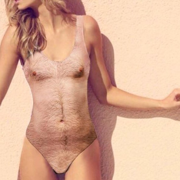 The Hairy Chest Swimsuit