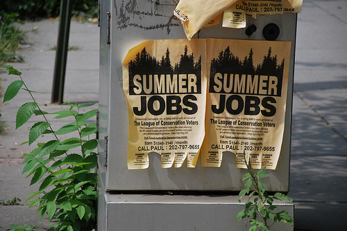 Summer Jobs Are Dying
