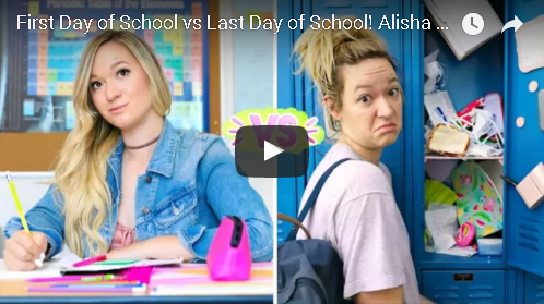 First Day Of School Vs Last Day Of School