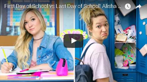 First Day Of School Vs Last Day Of School