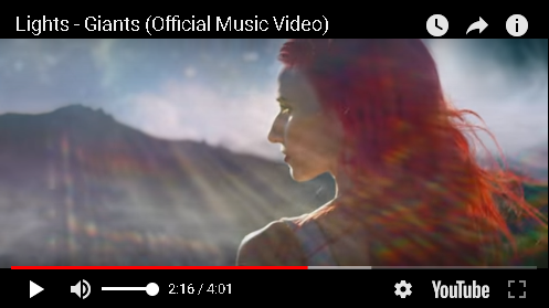 "Lights: ""Giants"" Music Video"
