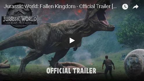Jurassic World: Fallen Kingdom Official Trailer