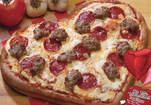 """Where To Get """"Heart-Shaped Pizza"""" In La Crosse For Valentine's Day"""
