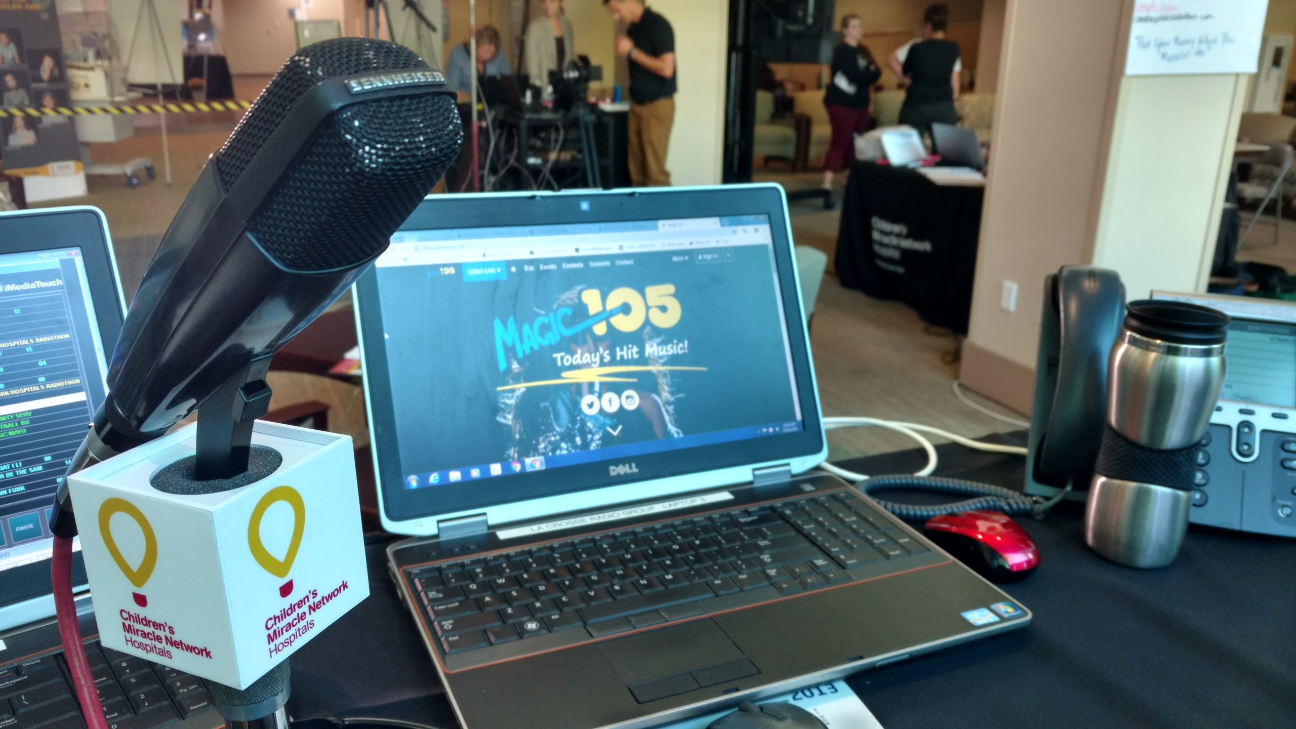 Radiothon Day One- New Faces, Tears, & Smiles