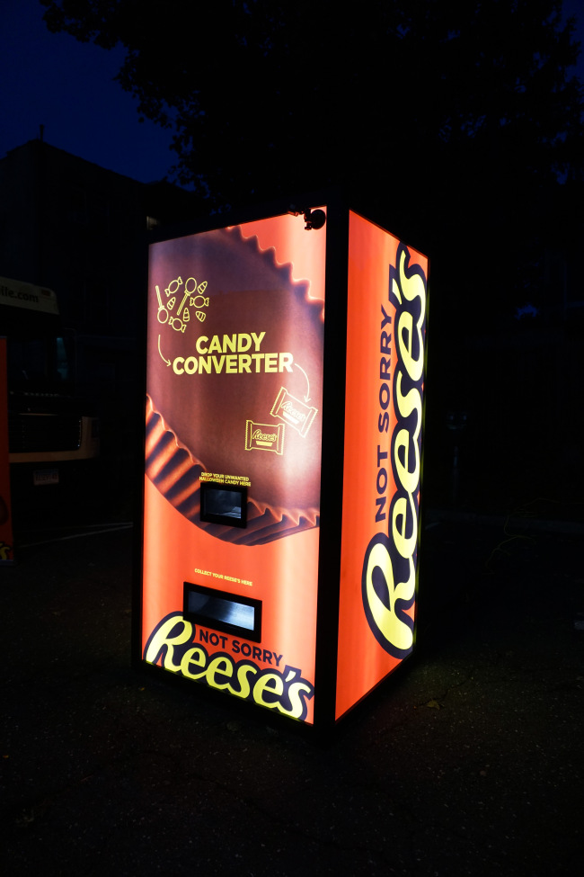 Trade In Your Unwanted Halloween Candy For Reese's