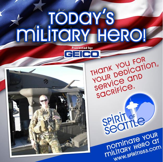 Recognizing Your Military Hero – Travis Marzolf