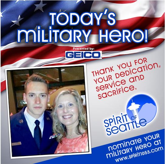 Recognizing Your Military Hero – Jeff Baldwin