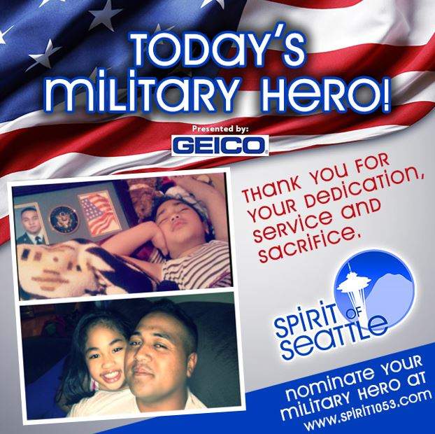 Recognizing Your Military Hero -  Faataui Iuli