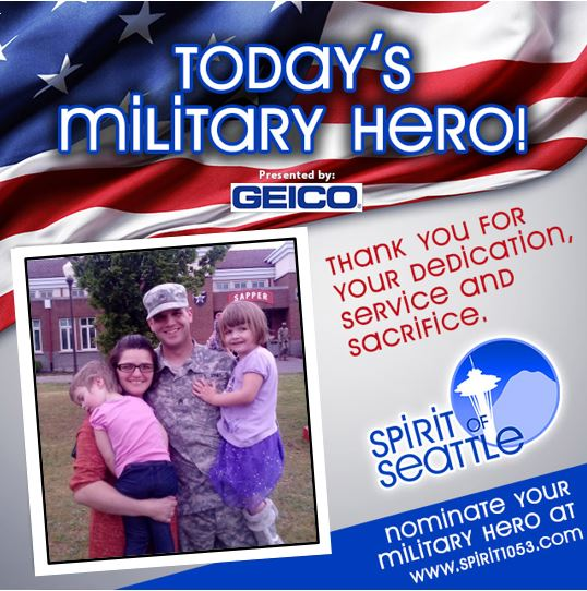 Recognizing Your Military Hero – Joshua Emmot