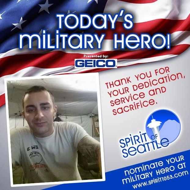 Recognizing Your Military Hero – Matthew Smyth