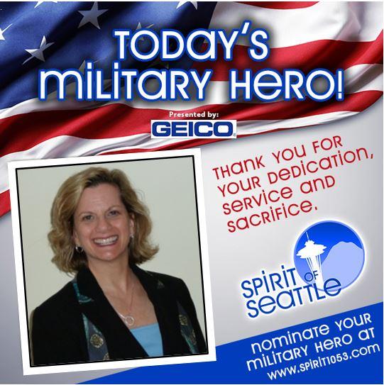Recognizing Your Military Hero – Lori Katz