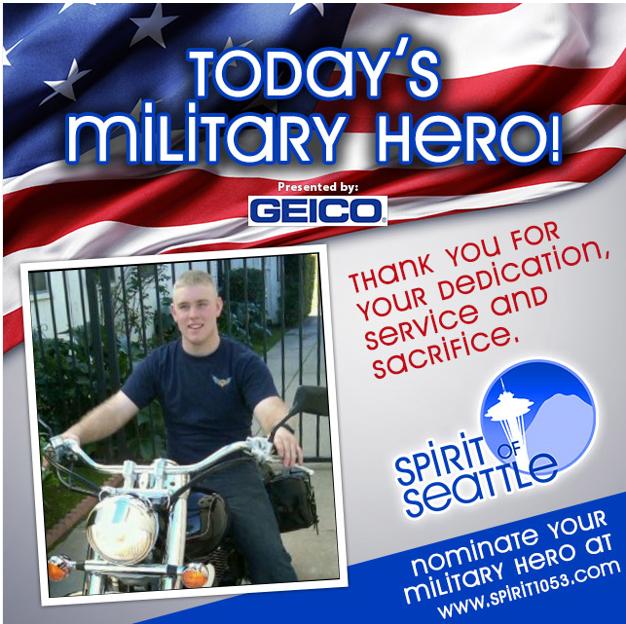 Recognizing Your Military Hero - Treyton Delk