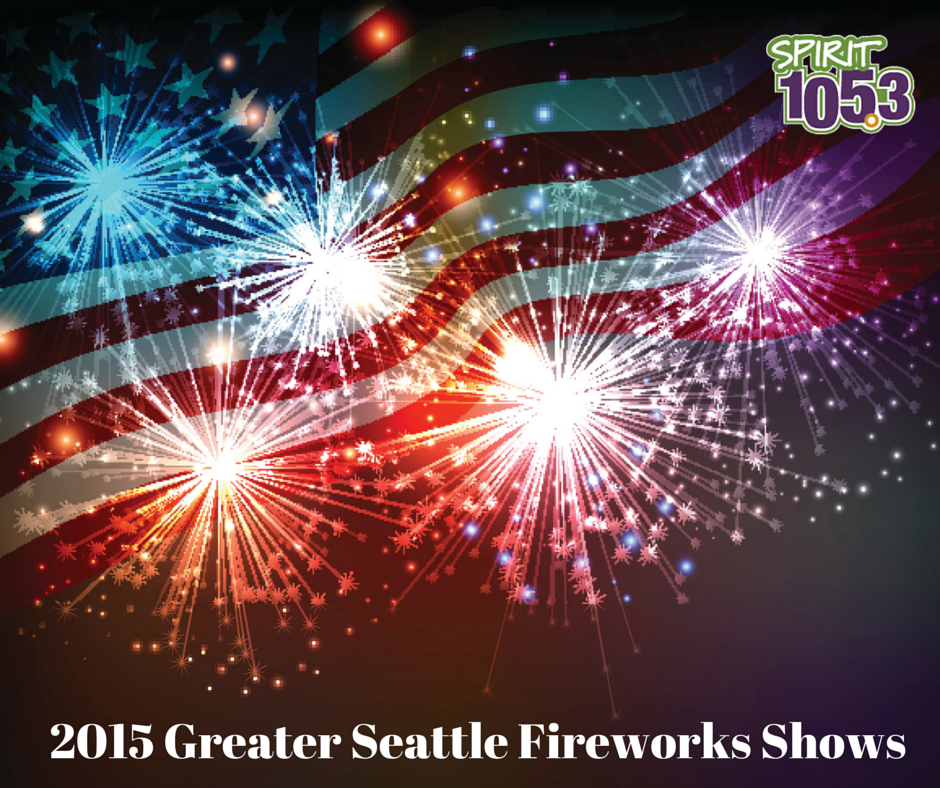 2015 Greater Seattle Fireworks Shows