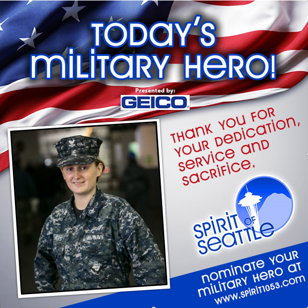 Recognizing Your Military Hero- Adrienne Powers