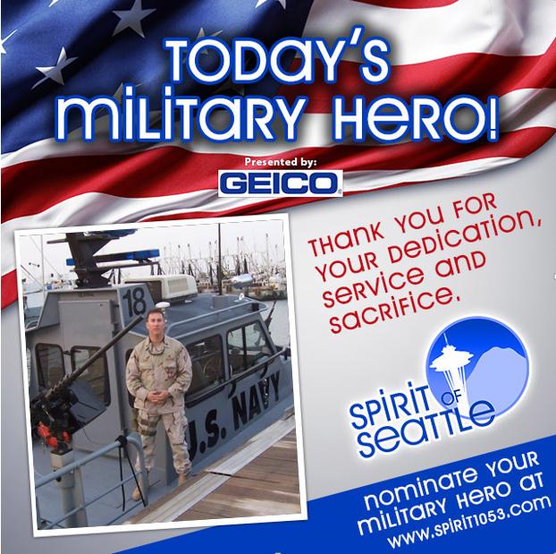 Recognizing Your Military Hero - Scott Leaf