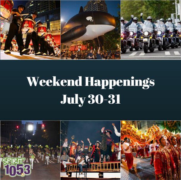 Weekend Happenings: July 30-31