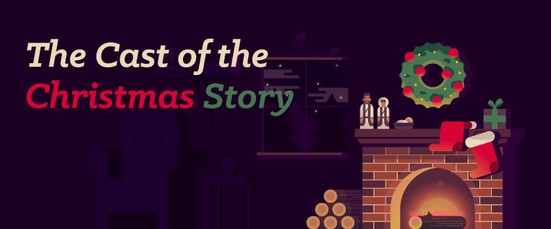 The Cast of the Christmas Story