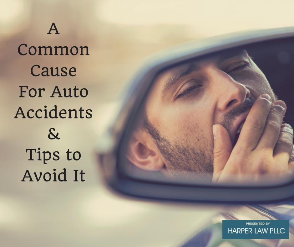 A Common Cause For Auto Accidents & Tips to Avoid It