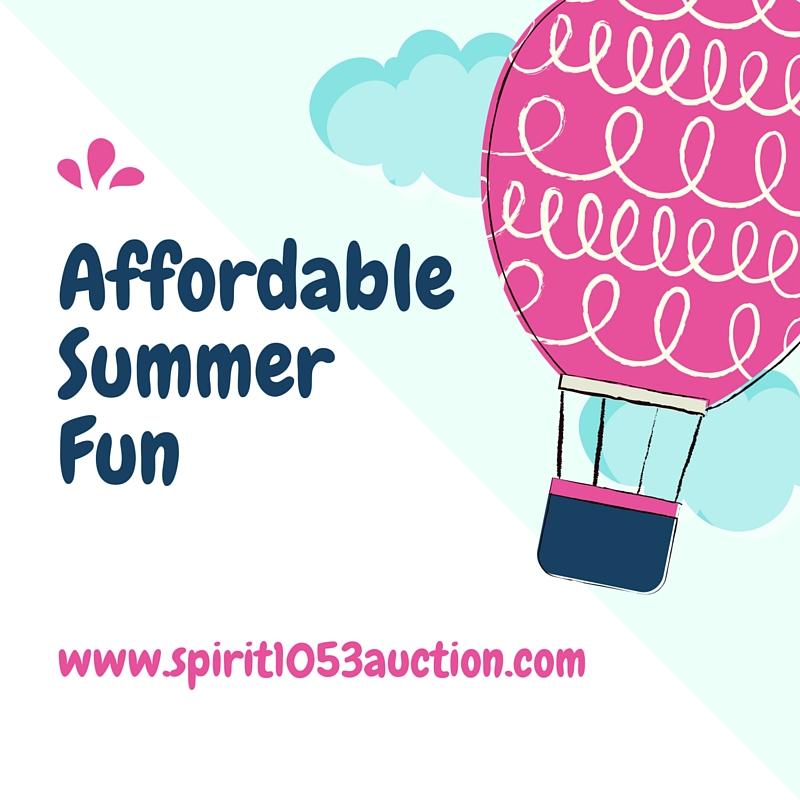 Affordable Summer Fun