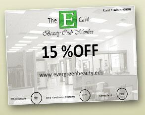 Win An Evergreen Beauty College VIP E-Card