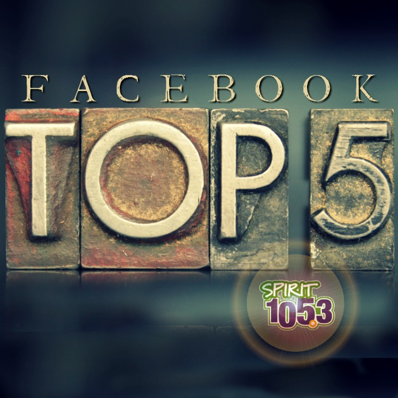 Facebook Top 5 (3/17-3/22)