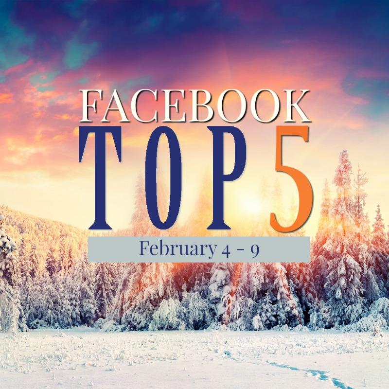 Facebook Top 5 (02/04-02/09)