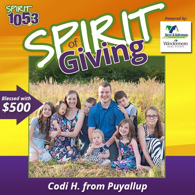SPIRIT of Giving - The Howell Family