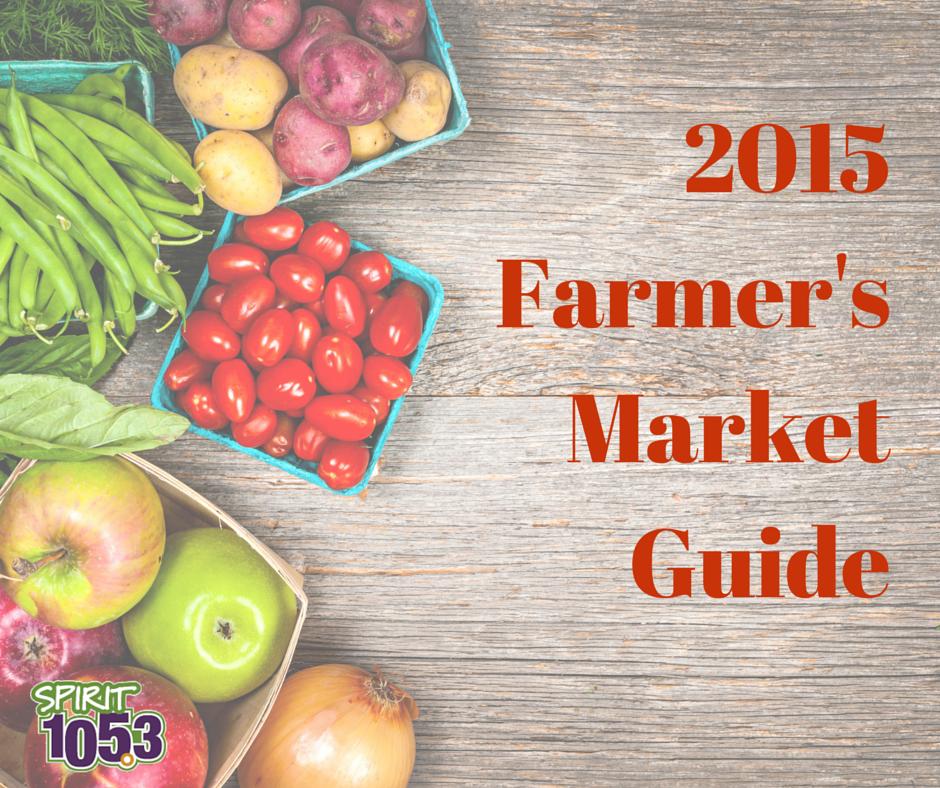2015 Farmer's Market Guide