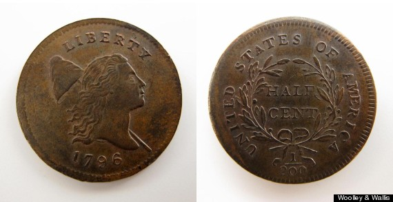 The Local Connection To The Sale Of A Rare 1796 U.S. Half Cent