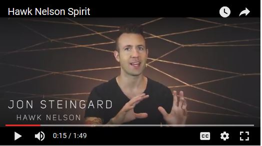 Jon Steingard from Hawk Nelson on Contentment
