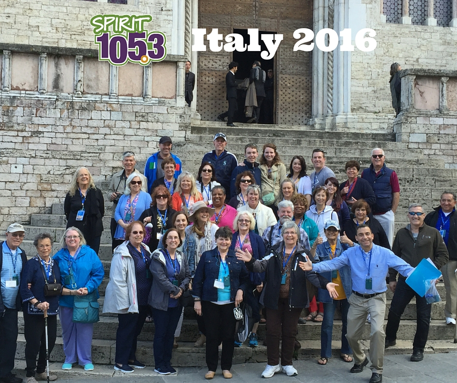 SPIRIT Listeners Take On Italy - 2016