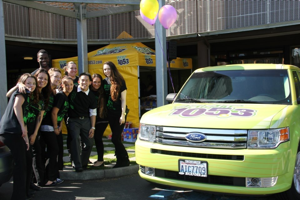 Events with Evergreen Beauty College and SPIRIT 105.3