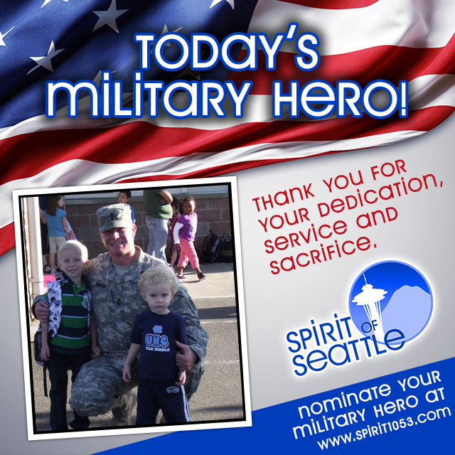 Recognizing Your Military Hero - Kirk Shriver