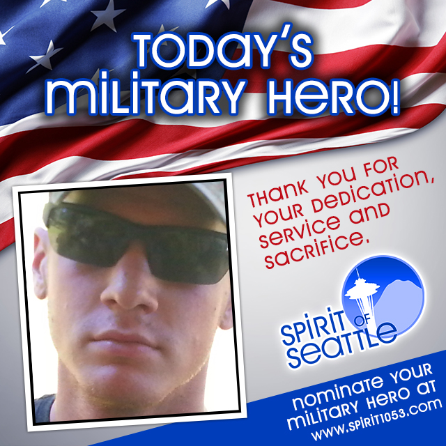 Recognizing Your Military Hero - Zachary Wolle