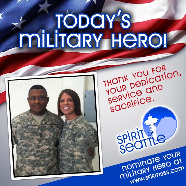 Recognizing Your Military Hero - Anthony Wade