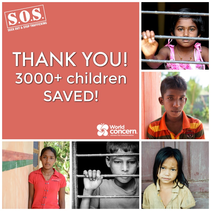 3,000+ Children SAVED Because of YOU