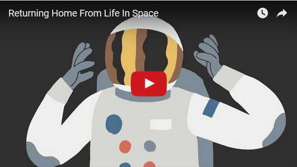 VIDEO: Returning Home From Life In Space