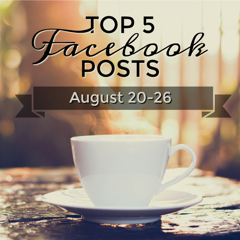 Facebook Top 5 (08/20-08/26)