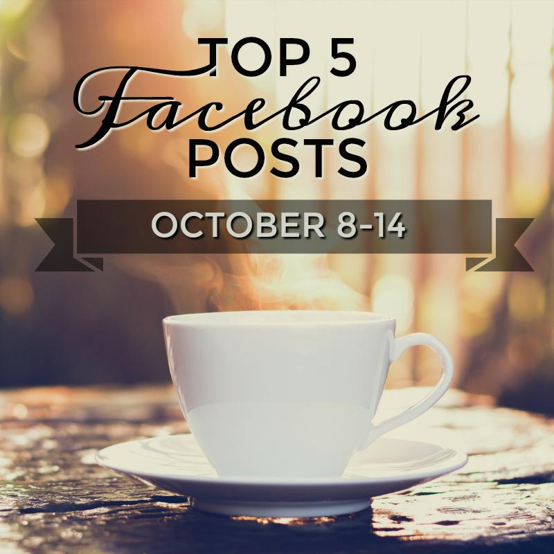 Facebook Top 5 (10/08-10/13)