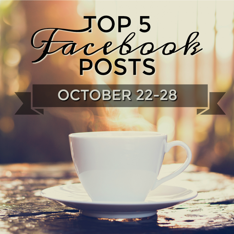 Facebook Top 5 (Oct 22-28)