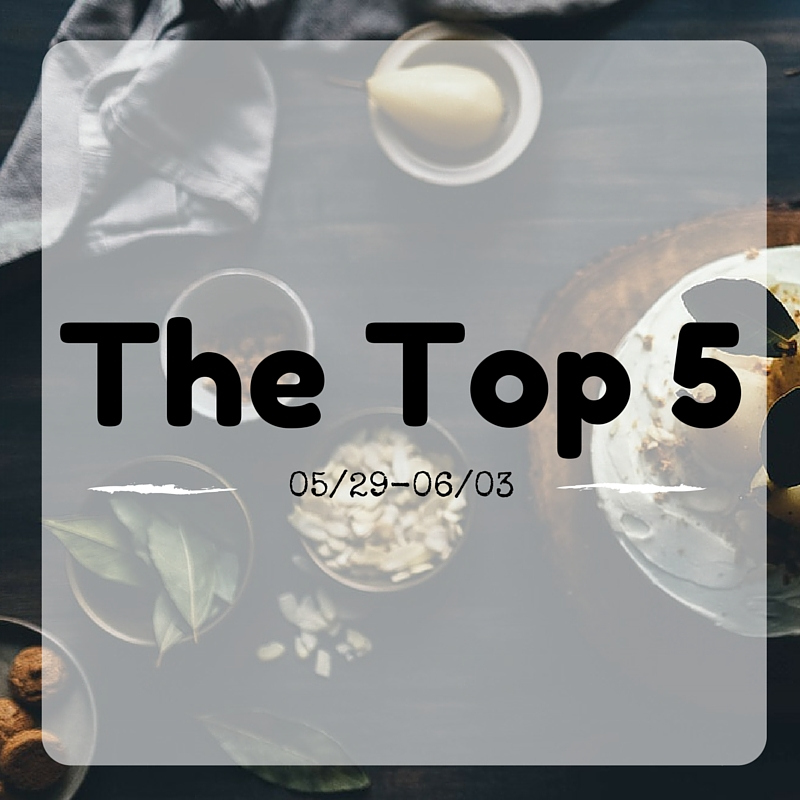 The Top 5 Are Here