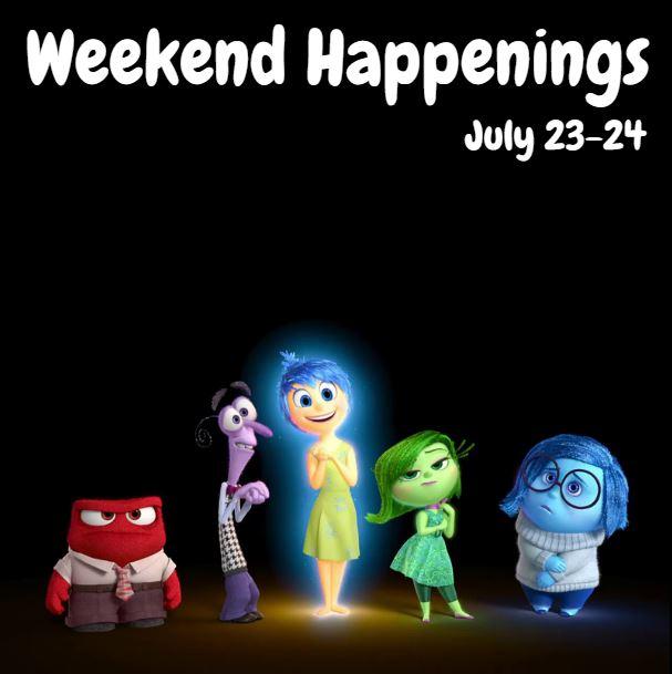 Weekend Happenings: July 23-24
