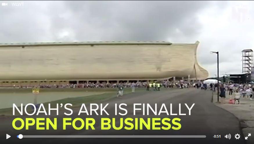 Noah's Ark Built in Kentucky